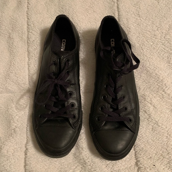Converse Other - Leather Converse Tennis Shoes